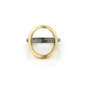 stackring-silver-18kgold-cirkel BE.rzg.62